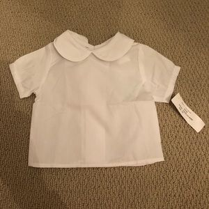 NWT THE BAILEY BOYS white blouse 3mo